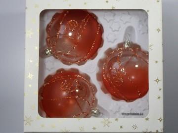 Vánoční ozdoba - koule 111 193 32-8 100-35