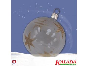 Vánoční ozdoba - koule 111 1a1 87-7 100+924
