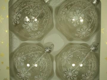 Vánoční ozdoba - koule 111 1a7 25-8 100