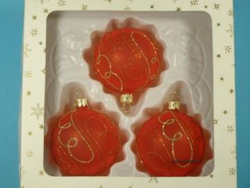 Vánoční ozdoba - koule 111 485 03-7 324-93