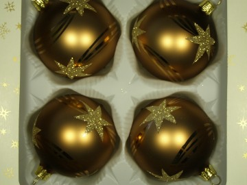 Vánoční ozdoba - koule 112 49e 80-7 474-92