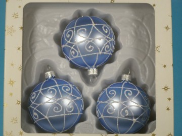 Vánoční ozdoba - koule 112 4g3 89-7 mb4