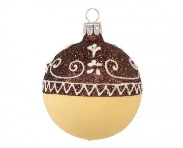 Vánoční koule vanilka, perník