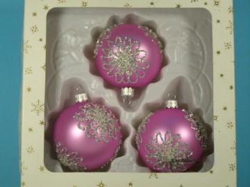 Vánoční ozdoba - koule 112 4k1 11-7  604