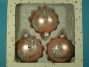 Vánoční ozdoba - koule 112 4k1 11-7  cl4