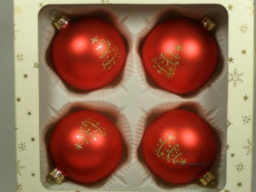 Vánoční ozdoba - koule 112 4k3 10-7 554