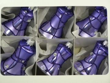 Vánoční ozdoba - zvonek - 13 034-604