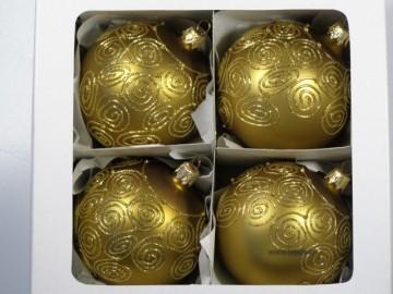 Vánoční ozdoba - koule - 13 041-8-254