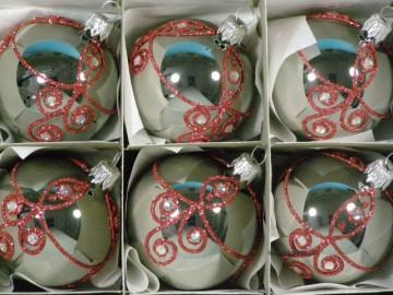 Vánoční ozdoba - koule - 14 011-6-100-534