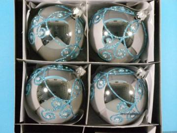 Vánoční ozdoba - koule - 14 011-8-100-824