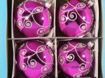 Vánoční ozdoba - koule - 14 011-8-563-100