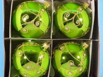 Vánoční ozdoba - koule - 14 011-8-733