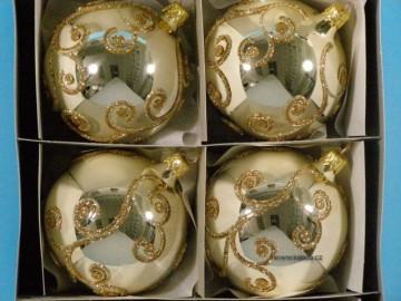 Vánoční ozdoba - koule - 14 021-8-199