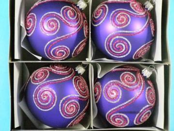 Vánoční ozdoba - koule - 14 031-8-644