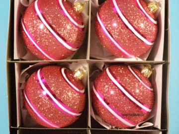 Vánoční ozdoba - koule - 14 041-8-543