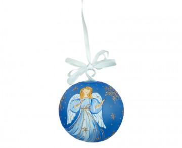 Vánoční koule modrá tmavá