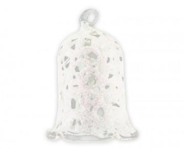 Vánoční zvonek perleťový, drátek