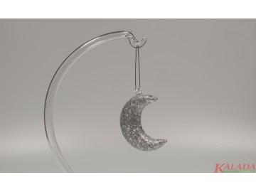 Přírodní tvar drátkovaný, stříbrný