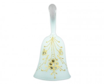 Skleněný zvonek perleťový