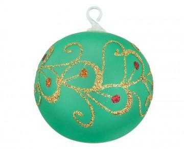 Vánoční koule lahvová, spirálka