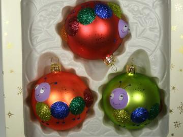 Vánoční ozdoba - koule 162 454 38-7 ass