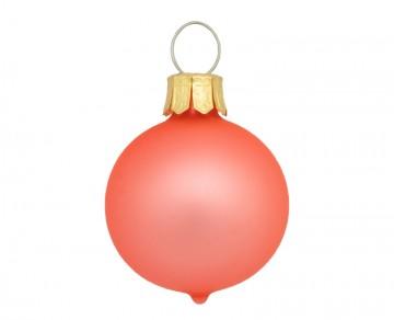 Vánoční koule orange, matná