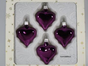 Vánoční ozdoba - srdce 332 200 00 f63