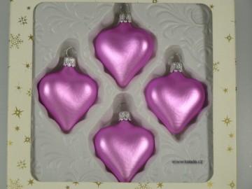 Vánoční ozdoba - srdce 332 400 00 604