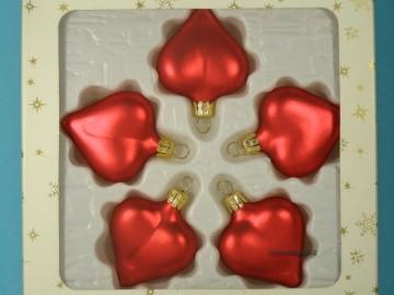 Vánoční ozdoba - srdce 332 400 00 554
