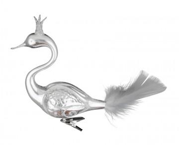 Skleněná labuť, stříbrná