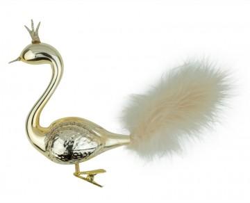 Skleněná labuť, zlatá