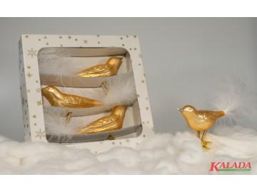 Vánoční ozdoba - pták 372 458 60-12 204+9