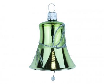 Vánoční zvonek olivový, lístky