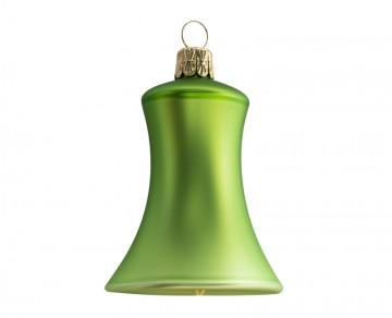 Vánoční zvonek olivový, matný