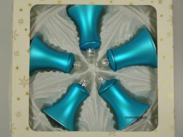 Vánoční ozdoba - zvonek 412 400 00-5-5  704