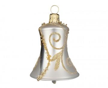 Vánoční zvonek šampáňo, spirálka lístek