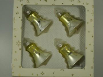 Vánoční ozdoba - zvonek 412 490 55-5-5 1042