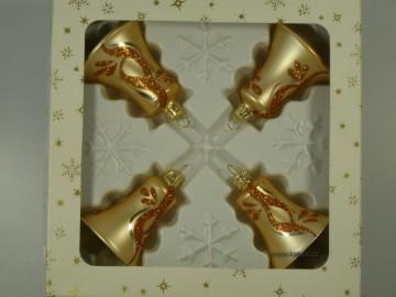 Vánoční ozdoba - zvonek 412 490 66-5-5 ga49