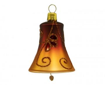 Vánoční zvonek karamelový, spirálka