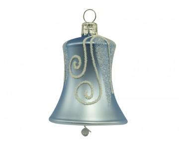 Vánoční zvonek bleděmodrý, spirálka rampouch