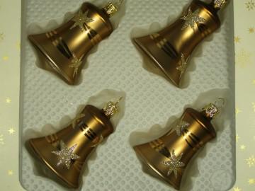 Vánoční ozdoba - zvonek 412 491 00-5,5 474-9
