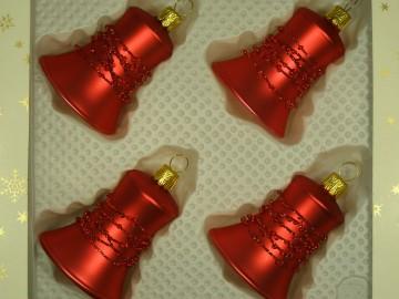 Vánoční ozdoba - zvonek 412 491 07-5,5 55495
