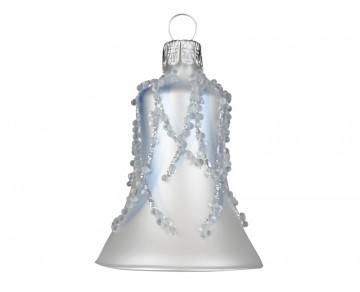 Vánoční zvonek perleťový, plamínek