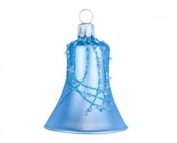 Vánoční zvonek bleděmodrý, perličky