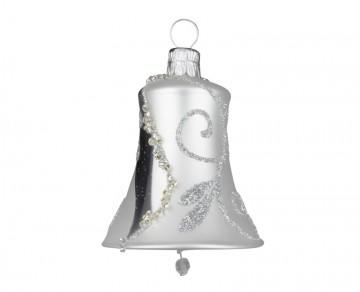 Vánoční zvonek perleťový, spirálka lístek