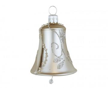 Vánoční zvonek šedý, spirálka lístek