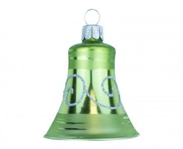 Vánoční zvonek olivový, spirálka