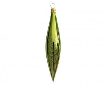 Vánoční raketa olivová, lesklá