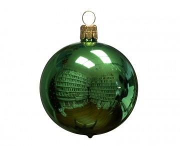 Vánoční koule lahvová, lesklá