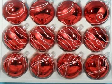 Sada vánočních ozdob - koule 711 290 27-7 553-995